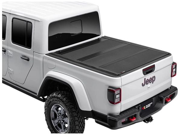 RUGGED RIDGE ARMIS HARD FOLDING TONNEAU COVER 13550.24