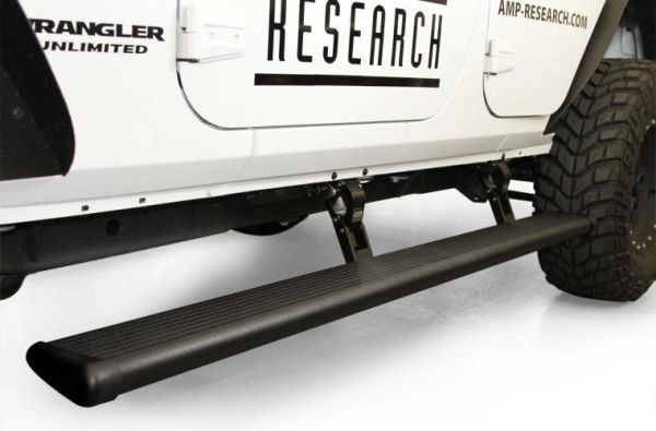 AMP RESEARCH POWERSTEP RUNNING BOARD JEEP WRANGLER JL 18-C 75132-01A