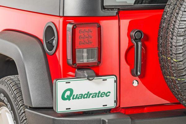 Quadratec LED Tail Lights for 07-18 Jeep Wrangler JK 55213.0117
