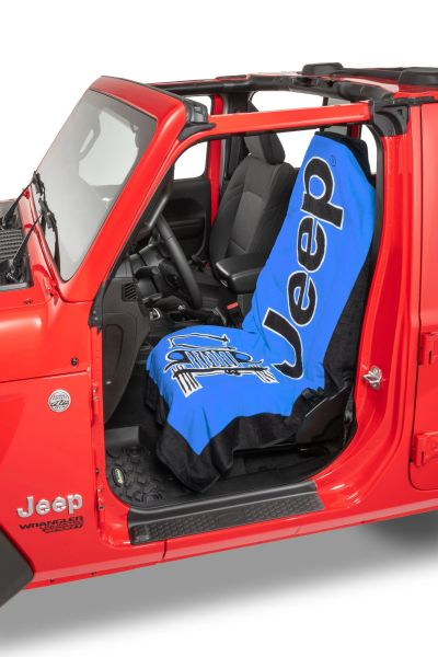 Insync Jeep Logo Towel 2 Go Seat Cover