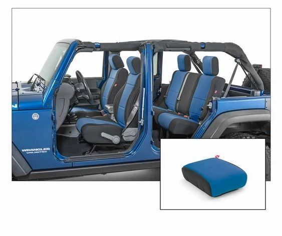 Diver Down Front and Rear Neoprene Seat Covers for 07-18 Wrangler Unlimited JK 4-Door