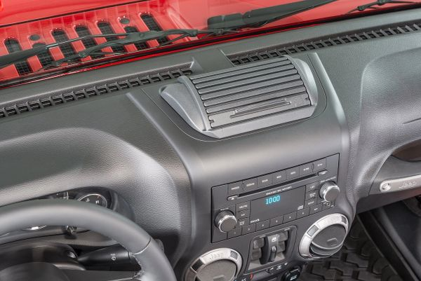 Vertically Driven Products 31800 Roll Top Dash Storage Console for 11-18 Jeep Wrangler JK