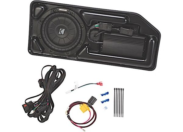 KICKERSUBSTAGE POWERED SUBWOOFER 15-C CHEVROLET COLORADO/GMC CANYON CREW CABKICKER KICSCOCRE15