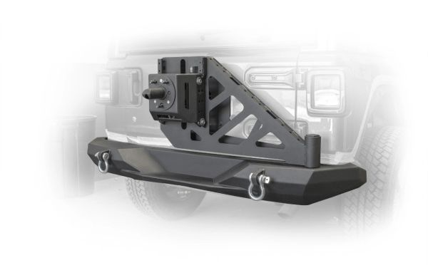 DV8 Offroad RBJL-08 Rear Bumper and Swing Away Tire Carrier for 18-21 Jeep Wrangler JL
