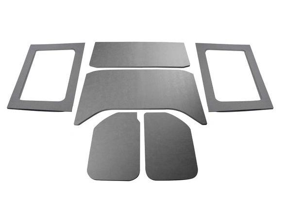 Boom Mat 050293 Sound Deadening Headliner & Hardtop Sides Kit in Black Leather for 11-18 Jeep Wrangler JK Unlimited 4-Door