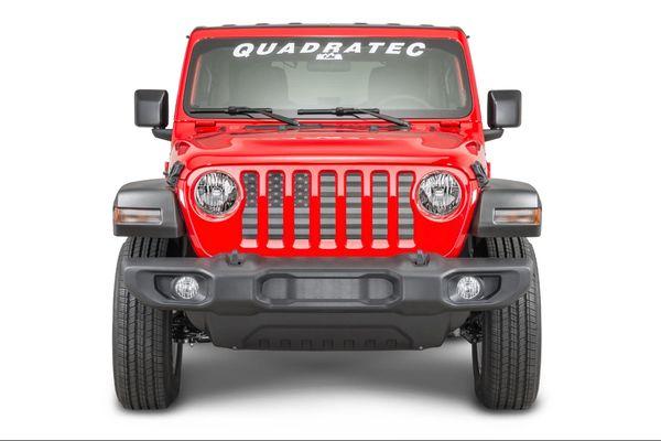 Quadratec Grille insert for 18-21 Jeep Wrangler JL & Gladiator JT
