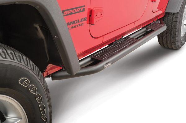 Quadratec QRC Side Armor with Step Jeep Wrangler