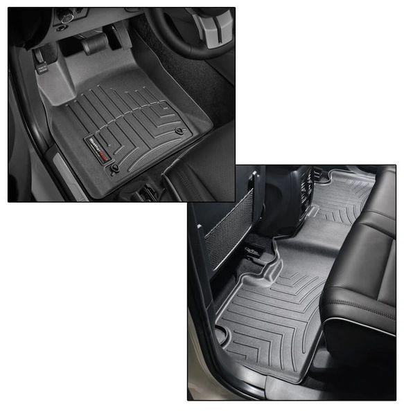 WeatherTech DigitalFit Front & Rear FloorLiner for 16-21 Jeep Grand Cherokee WK2