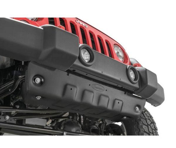 Quadratec Aluminum Modular Front Sway Bar Skid Plate for 10-18 Jeep Wrangler JK