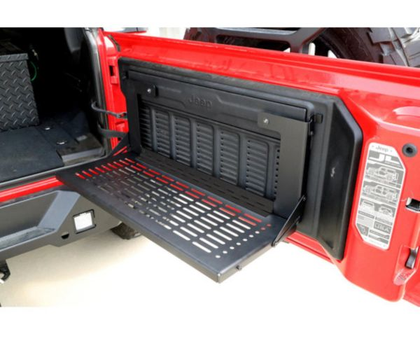 Dee Zee DZ4469JL Tailgate Table Work Bench for 18-21 Jeep Wrangler JL