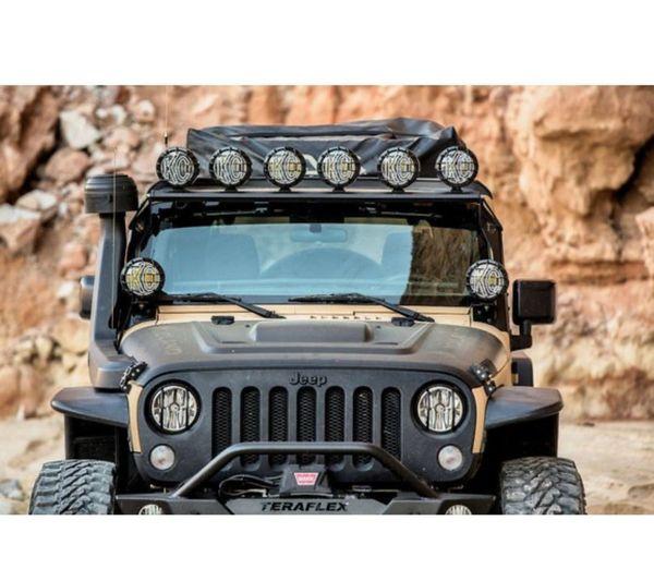 """KC HiLiTES 50"""" Overhead Xross Bar Light Mount for 07-18 Jeep Wrangler JK"""