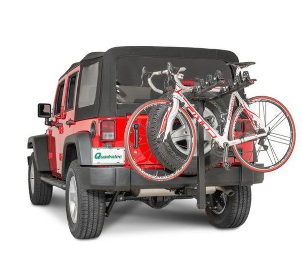 "Quadratec 4 Bike Folding Bike Rack for 2"" Receiver Hitch"