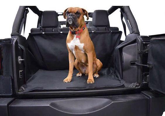 Dirtydog 4X4 Cargo Liner for Jeep Wrangler