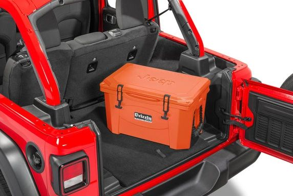 Grizzly Jeep Coolers 430085 40 Qt. Jeep Logo Cooler