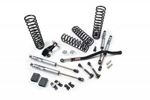 JKS Manufacturing JSPEC100KFR J-Venture 3.5in Suspension System with FOX 2.0 Performance Series Reservoir Shocks for 07-18 Jeep Wrangler Unlimited JK 4 Door