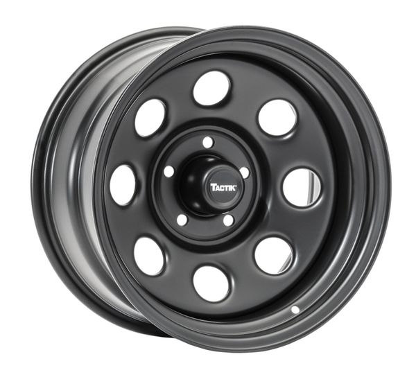 TACTIK Circle 8 Classic Wheel in 17x9 with 4.75in Backspace for 07-21 Jeep Wrangler JK, JL and Gladiator JT