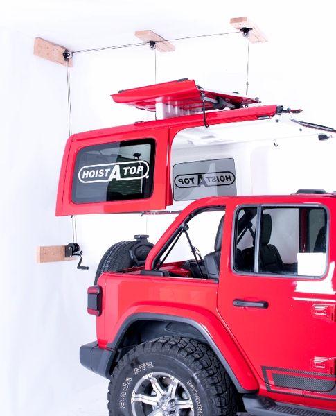 Lange Originals 014-920 Crank Hoist-a-Top for 18-21 Jeep Wrangler JL Unlimited 4-Door