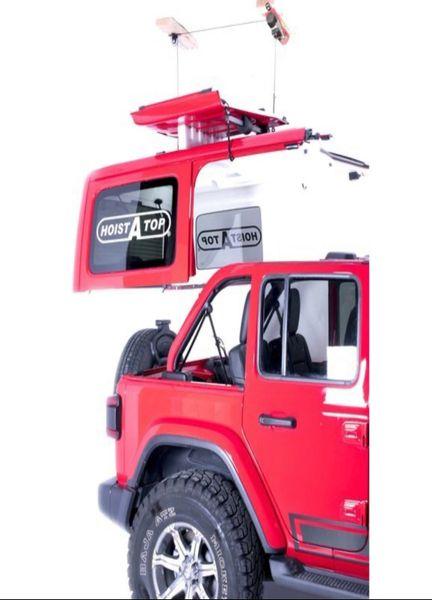 Lange Originals 014-910 Power Hoist-a-Top for 18-21 Jeep Wrangler JL 4-Door Unlimited