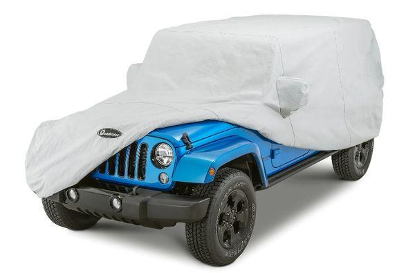 Quadratec Softbond 5-Layer Car Cover for 07-18 Jeep Wrangler Unlimited JK 4 Door