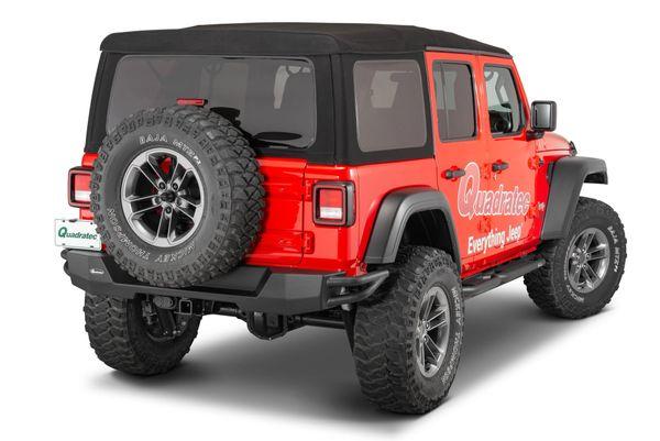 Quadratec QRC Rear Bumper for 18-21 Jeep Wrangler JL 12057.0241