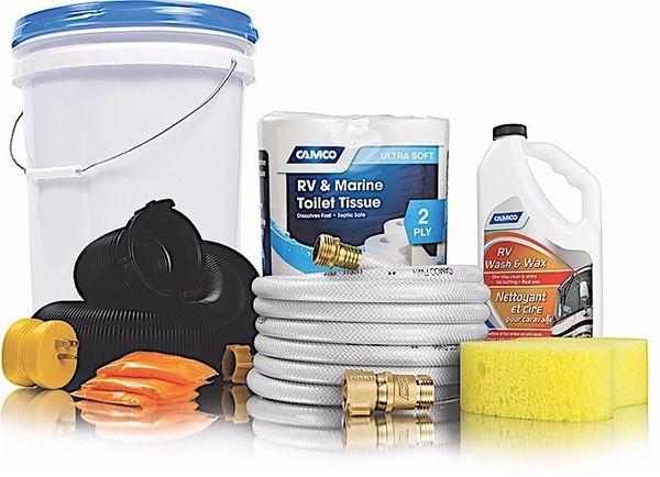 Camco RV Starter Kit Bucket - 8 44762