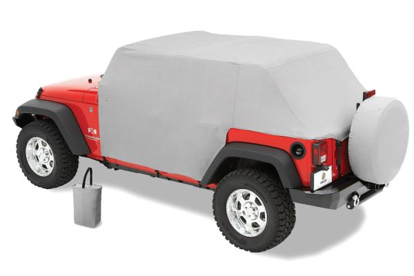 Pavement Ends 41731-09 Canopy Cover in Gray for 07-18 Jeep Wrangler Unlimited JK 4 Door
