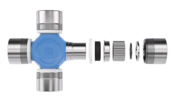 Dana Spicer 5-760XC Blue Series Axle Shaft U-Joint for 93-11 Jeep Wrangler YJ, TJ and JK