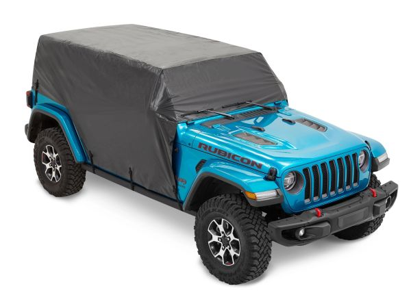 Bestop 81403-01 All Weather Trail Cover in Black for 07-21 Jeep Wrangler JK & JL Unlimited