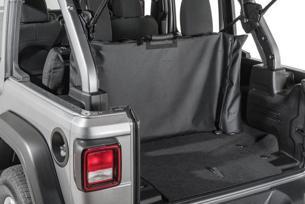 MasterTop Rear Window Storage Bags for 18-21 Jeep Wrangler JL Twill 13100624