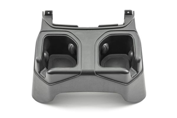 Quadratec 14125 3030 Rear Cup Holder Conversion for 18-21 Jeep Wrangler JL with Factory Leather Seats