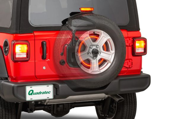 Quadratec 3rd Brake Light LED Ring for 18-21 Jeep Wrangler JL 12052.0907