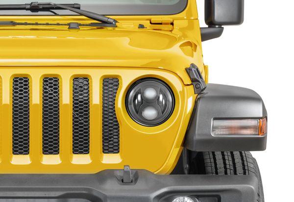 Quadratec Premium LED Projector Beam Headlights Kit for 18-21 Jeep Wrangler JL & Gladiator JT 97109.0203