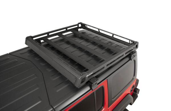 Quadratec Aluminum Roof Rack for 18-21 Jeep Wrangler JL & Gladiator JT