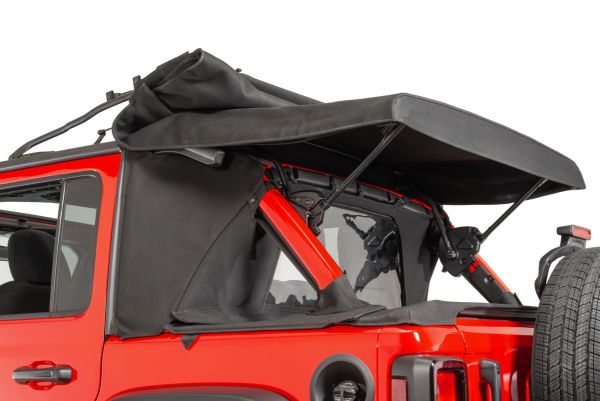 MasterTop Ultimate Summer Soft Top Combo for 18-21 Jeep Wrangler JL Unlimited Twill