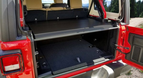 Tuffy 345-01 Security Deck Enclosure for 18-21 Jeep Wrangler JL