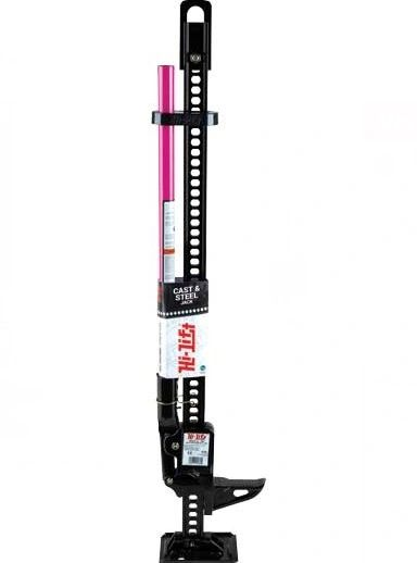 PINK HI-LIFT JACK 48IN BLACK WITH PINK HANDLE- BREAST CANCER AWARENESS EDITION