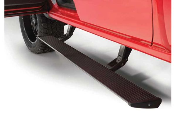 AMP RESEARCH POWERSTEP RUNNING BOARDS 14-16 SILVERADO/SIERRA 1500/15-16 2500/3500 GAS CREW/DOUBLE CAB PLUG AND PLAY POWERSTEP W/LIGHT KIT