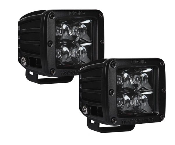 RIGID INDUSTRIES D-Series Midnight Edition Pair
