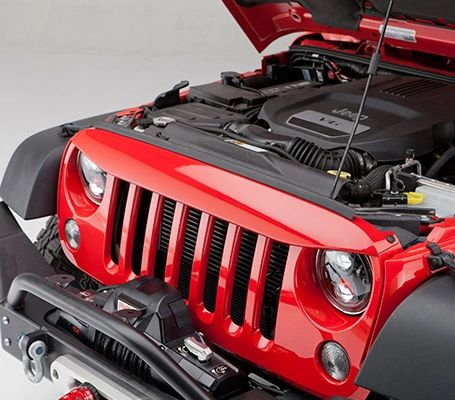 UnderCover Truck Bed Covers Nighthawk Light Brow 07-17 Jeep Wrangler NH1001