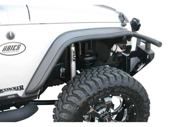 Aries TUBULBAR FRONT FENDER FLARE TEXTURE BLACK 1500201