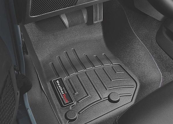 WeatherTech Floor Mats Jeep Wrangler JK/JKU 14-18 front set 445731