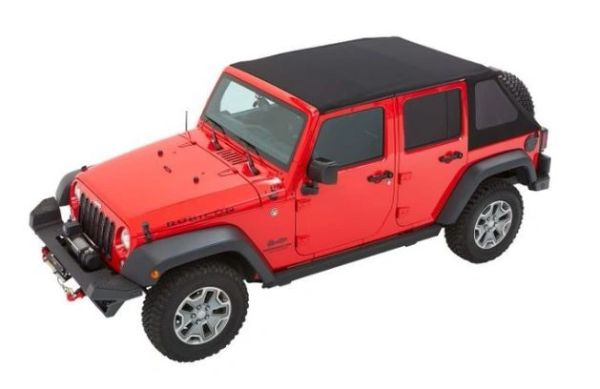 Bestop TREKTOP NX PLUS SOFT TOP 4DR Jeep Wrangler 07-18 JKU Twill