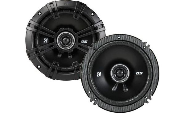 "Kicker 43DSC6504 DS Series 6-1/2"" 2-way car speakers"