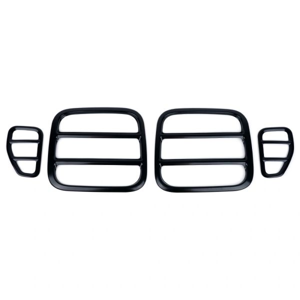 Black Taillight Guards for 2015-2017 Jeep Renegade