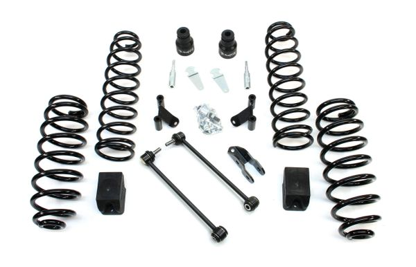 "TERAFLEX JK 2-DOOR 2.5"" LIFT KIT W/ SHOCK EXTENSIONS - NO SHOCKS 1352002"