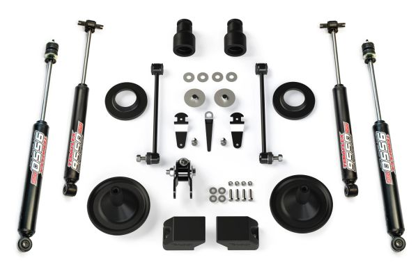 "Teraflex JK 2.5"" PERFORMANCE SPACER LIFT KIT W/ 9550 SHOCKS 1255200"