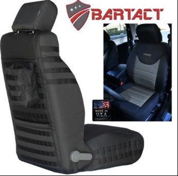 BARTACT MIL-SPEC 1997-02 JEEP WRANGLER TJ FRONT SEAT COVERS (PAIR)