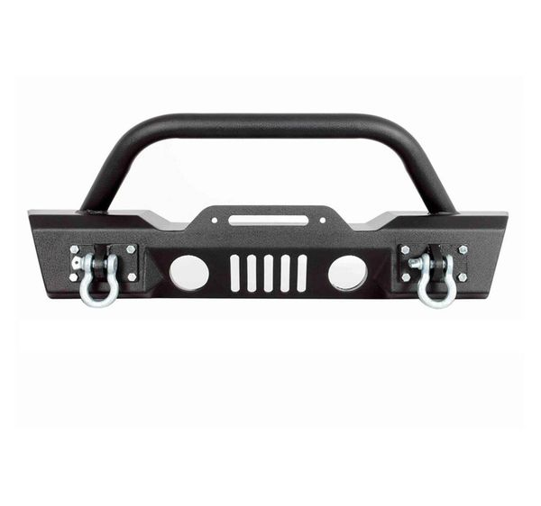 Paramount 07-16 JEEP WRANGLER JK S3 STUBBY FRONT BUMPER 51-0357