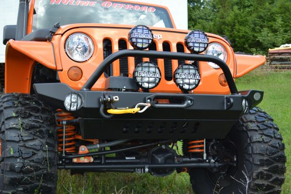 Hyline offroad JEEP JK MID WIDTH FRONT RECESSED WINCH BUMPER