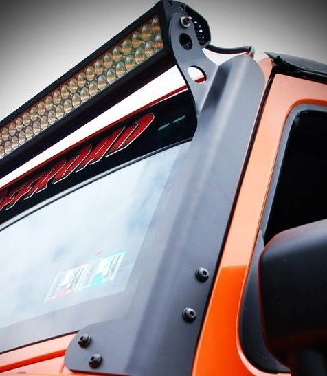 HYLINE LED LIGHT BAR MOUNTING BRACKETS JEEP 07-17 JK
